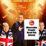 Garry Desmond Comedy Vocal Show